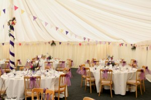 Wedding Marquee Hire South West Marquees Ltd. Castle Hill Farm, Nunney, Frome. Somerset