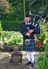 Wales Bagpiper in South Wales & Adjacent Counties - John Campbell Barry