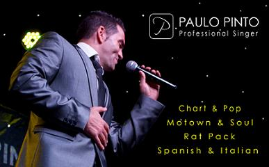 Wedding Entertainment Paulo Pinto - Professional |Singer ALL OF THE UK