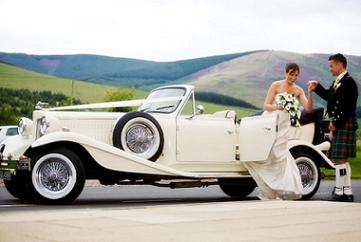 Scotland Barry's Bridal Classic Cars Bruce Cottage, Abbotsford Road Darnick Melrose