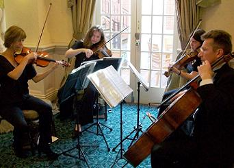 Wedding Musicians The Greenwich String Quartet London/Kent/home counties