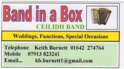 North East Norton Green Ceilidh Band 75 Lingfield Ash, Coulby Newham,Middlesbrough, Cleveland, .