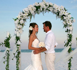 London Florida Beach Wedding: Destin Beach Wedding 157 Sandy Cay Drive
