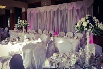 Wedding Chair Cover Hire Glamorous Touch Weddings Ltd 88 Westcliff Park Drive