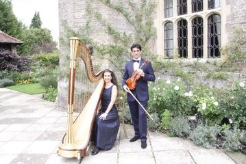 Wedding Musicians Wedding Harpist and Harp and Violin Duo Palgrave House