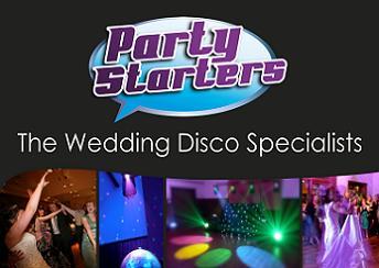 Wedding DJ's The Party Starters Ltd Norfolk, Cambridge, Suffolk, Essex