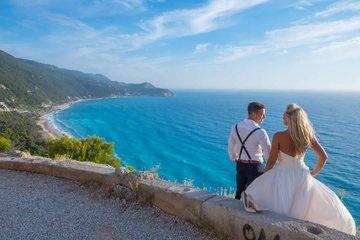 Wedding Abroad Lefkas Weddings Lefkada, Greece
