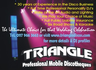 South West Triangle Mobile Discotheques Unit 19, Windmill Farm Business Centre, Bartley Street, Bedminster, Bristol