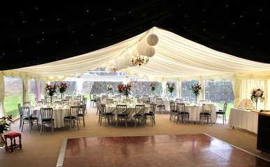 Wedding Marquee Hire 24 Carrot Event Hire Y Gaer, Cwmcou, Newcastle Emlyn, Ceredigion