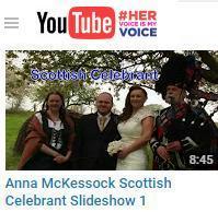 Scotland Anna McKessock Scottish Celebrant Dundee
